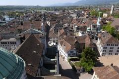 Ueber den Daechern von Solothurn