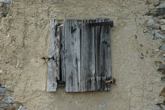 Holzfensterladen alt