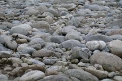 Flusssteine rund