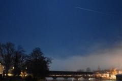 Aare Holzbrücke bei Nacht 2