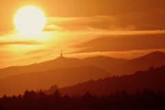 Chasseral Sonne