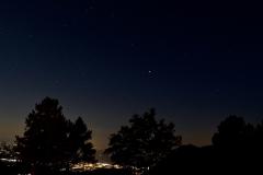 Sternenhimmel über Solothurn