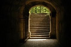 Toor mit Treppenaufgang
